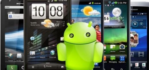 Celulares com Android